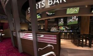 Resorts World Birmingham will house 18 bars and restaurants – as well as an Imax cinema.