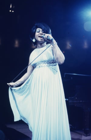 In concert at Madison Square Garden in 1968.