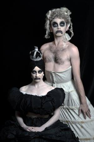 Eleanor Perry, left, and Daniel Hay-Gordon.
