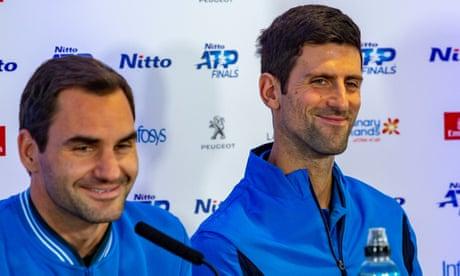Novak Djokovic v Roger Federer: ATP Finals – live!