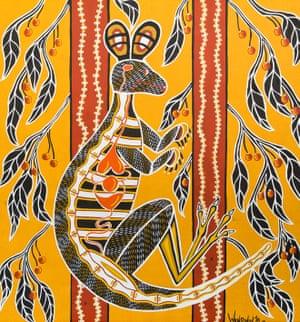 Darcy – Kangaroo Under the Quandong Tree 2016