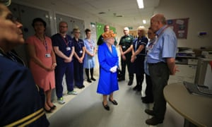 The Queen visits the Royal Manchester Children's Hospital