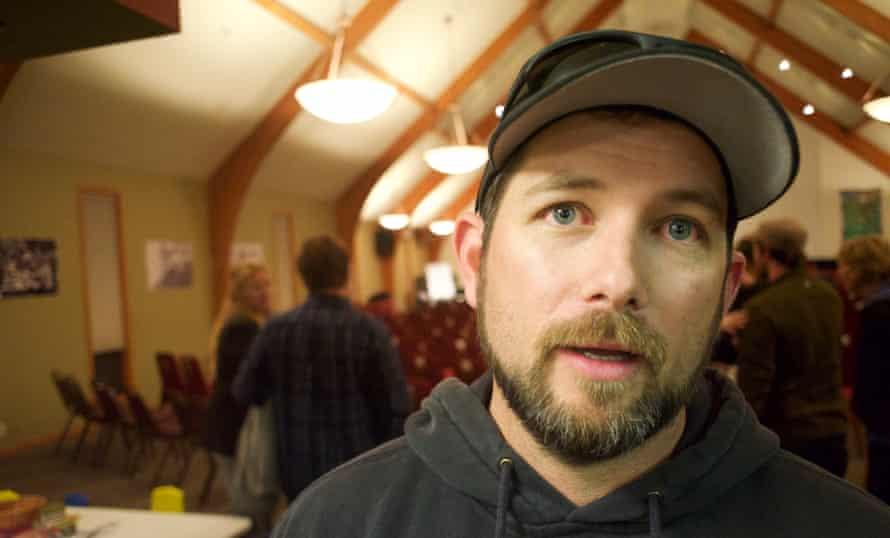 BJ Soper, a militia member, attended an event in Bend, Oregon.