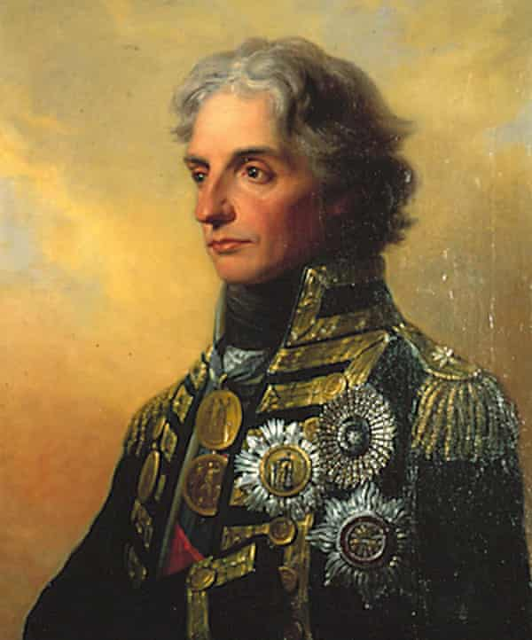 The Royal Navy Museum's official portrait of Admiral Horatio Nelson