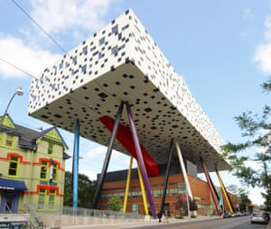 'Courageous, bold and just a little insane' … the Sharp Centre for Design in Toronto.