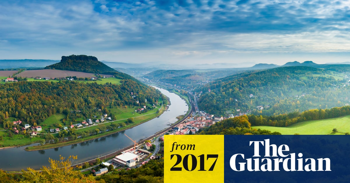 How a German river marks cultural divide between east and