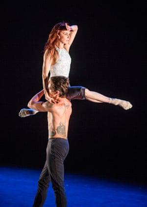 Natalia Osipova and Sergei Polunin in Silent Echo by Russell Maliphant