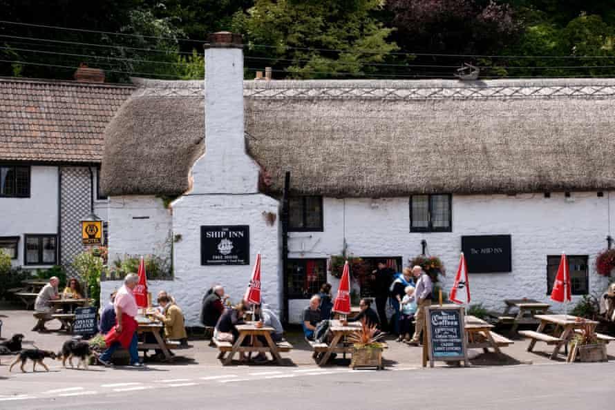 The Ship Inn Porlock Weir Somerset England