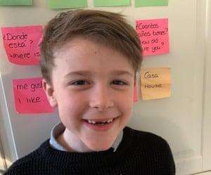 Lewis, eight, Croydon