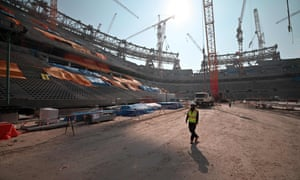 Lusail Stadium, which is still under construction, will host the final before being converted into a 'community hub'.