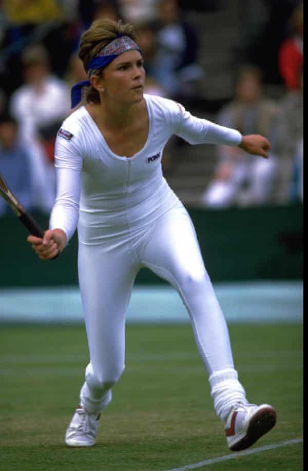 Anne White raised hackles at Wimbledon in 1985 with her catsuit.