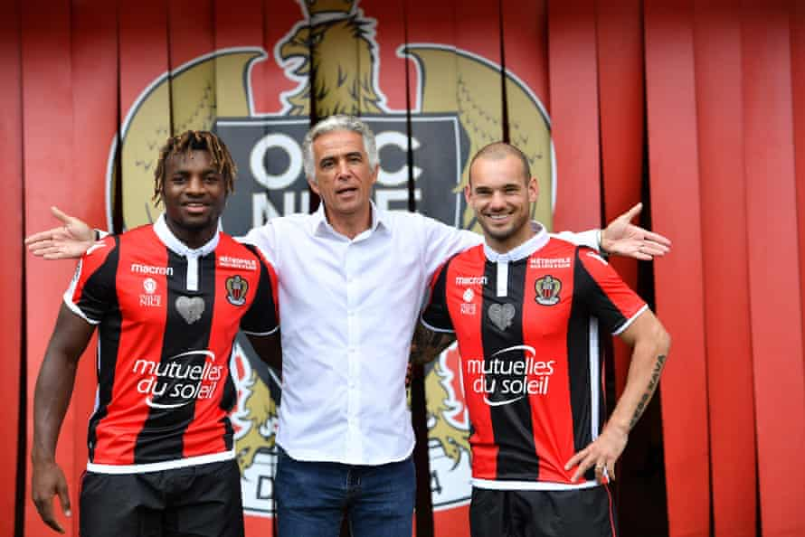 Following the signing of Mario Balotelli last season, unfashionable Nice have done it again to secure the services of another marquee signing in Wesley Sneijder