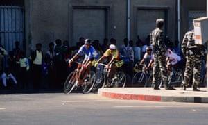 Cycle race in Asmara