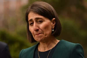 NSW premier Gladys Berejiklian during a press conference on Tuesday.