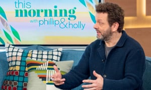 Michael Sheen makes the case against loan sharks on This Morning.