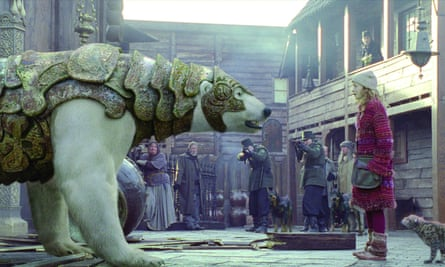 Singular world-building … the 2007 film of Philip Pullman's The Golden Compass.