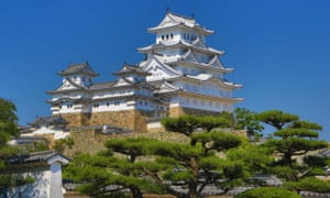 Himeji Castle, 40 minutes by train from Kobe.