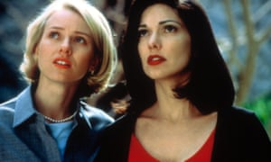 Naomi Watts and Laura Harring in Mulholland Drive (2001).