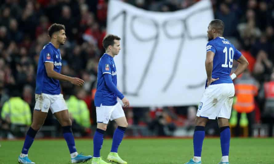 It was a bad night at the office for Everton.