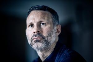 Wales manager Ryan Giggs by Christopher Thomond