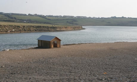 Surreal estate: an angler's retreat on Chesil beach – in pictures