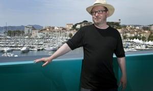 Lars von Trier in Cannes in 2011