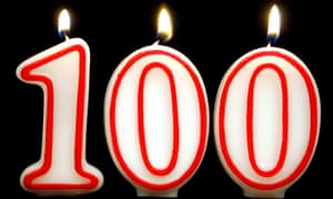More and more people are living to see their 100th birthday
