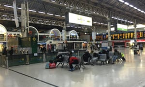 London's Victoria Station at 6am