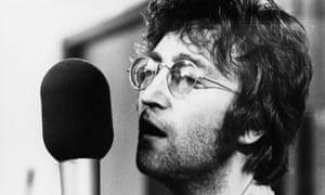 Joh Lennon Recording Imagine