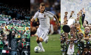David Beckham helped put MLS on the map, but the league has also benefited from grassroots support and expansion teams such as the Seattle Sounders