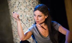 Kate Fleetwood as Medea by Euripides in the Almeida theatre's 2015 production.