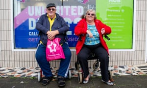 Caerphilly residents Trevor and Susan Parry, who thought the local lockdown inevitable after seeing packed pubs in their town