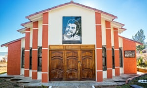 Memorial building at the site where Guevara's body lay in an unmarked grave. Vallegrande, Bolivia.