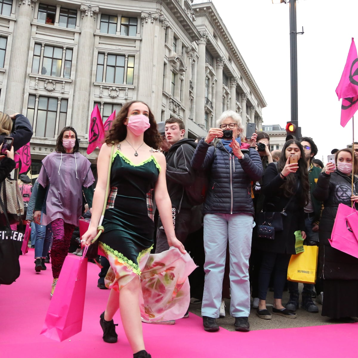 Scrap The Catwalk Extinction Rebellion Is Right London Fashion Week Is Unsustainable London Fashion Week The Guardian