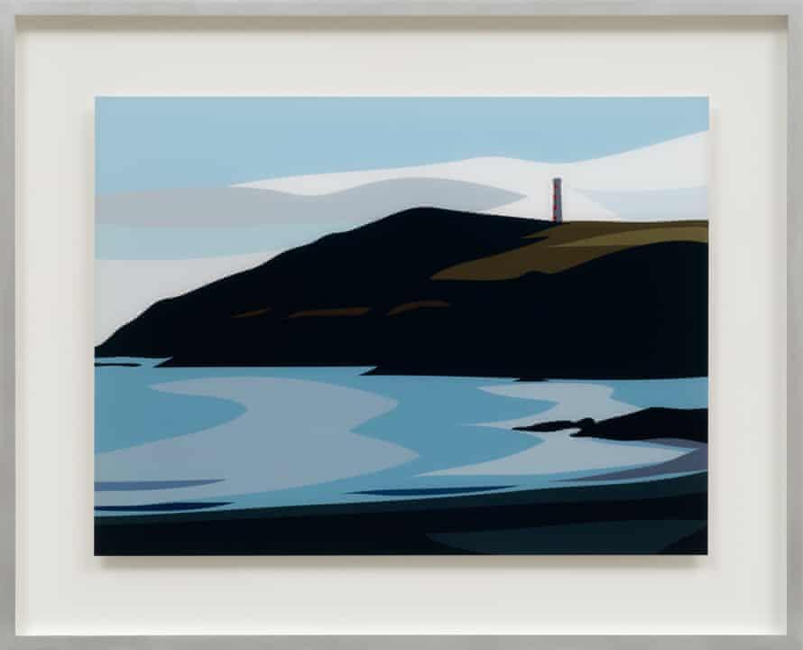 Gribbin Head. From: Cornish Coast 1.
