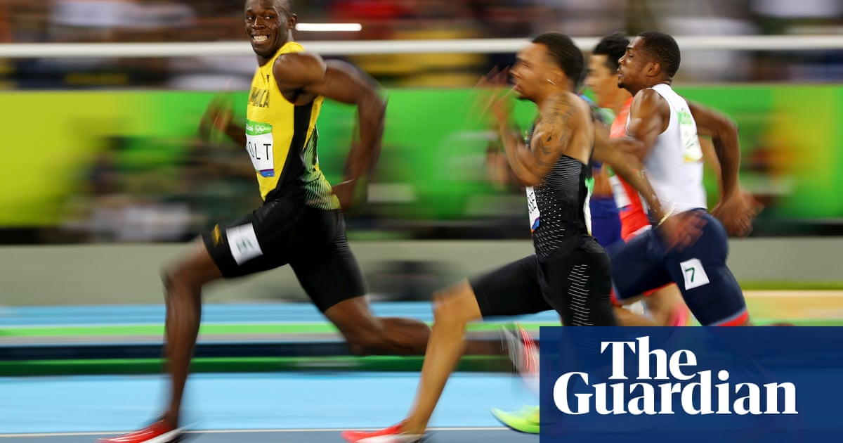 Larger bottoms are key to male sprinting success, study finds