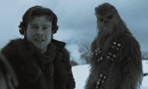 Alden Ehrenreich in Solo: A Star Wars Story.
