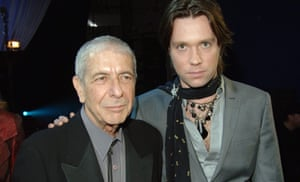 Leonard Cohen and Rufus Wainwright, in 2006