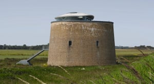 Duncan Jackson's converted Martello tower .