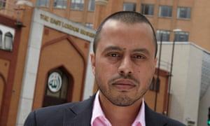Harun Khan, the leader of the Muslim Council of Britain.