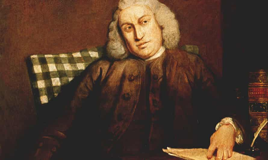 Samuel Johnson, Portrait by J Reynolds