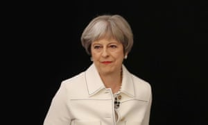 Theresa May as the Conservative spring forum
