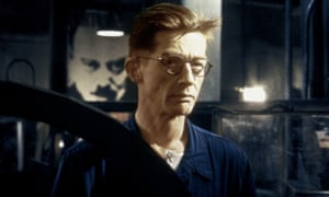 John Hurt as Winston Smith in the film of George Orwell's Nineteen Eighty-Four.