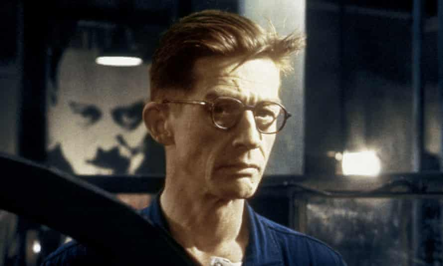 Key role … John Hurt as Winston Smith in Nineteen Eighty-Four.