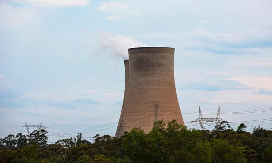 COAL MINING: Bayswater Power Station is a bituminous coal-powered thermal power station, Muswellbrook, Upper Hunter Valley, NSW, Australia. 12 November 2020. Photo: Jessica Hromas/ The Guardian