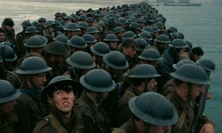 Fionn Whitehead in Dunkirk.