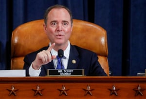 Adam Schiff speaks at a House intelligence committee hearing.
