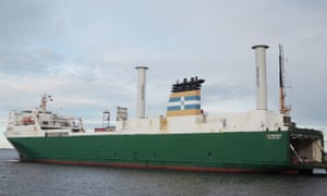 The MS Estraden cut fuel use by 6% after installing the wind cylinders.