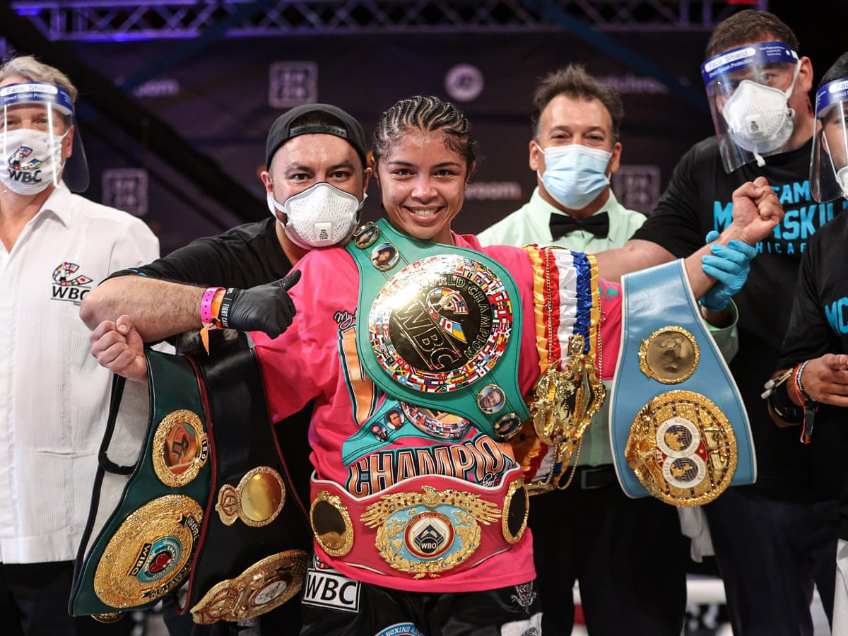 Jessica McCaskill stuns Cecilia Brækhus for undisputed title in massive  upset | Boxing | The Guardian