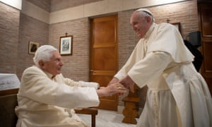Both Pope Francis and his predecessor, former pope Benedict XVI, have received the coronavirus vaccine.